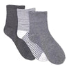 Women's 3-pack Comfy Mid-Crew Socks - Fuzzy Babba