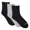 Women's 3-pack Roll Top Mid-Crew Socks - Fuzzy Babba