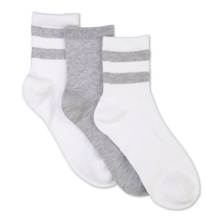 Women's 3-pack Rugby Mid-Crew Socks - Fuzzy Babba