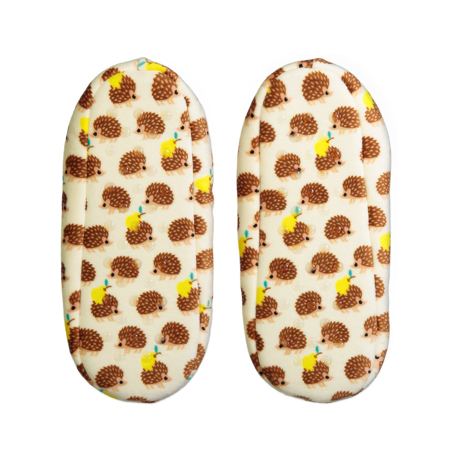 Women's Hedgehog Super-Stretchy Slipper with Satin Bow
