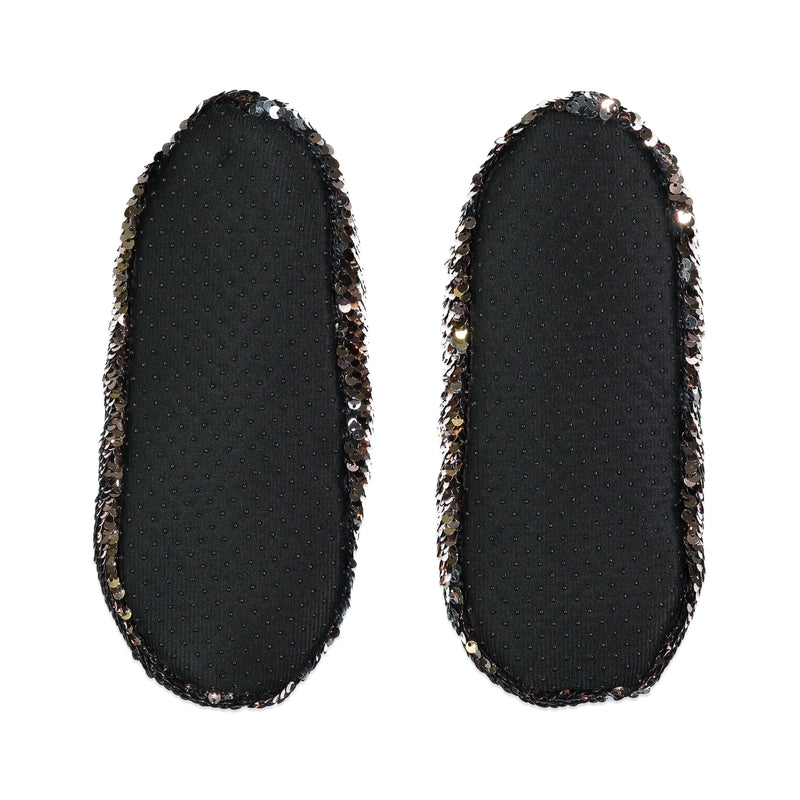 Women's Glam Sequin Slipper Sock