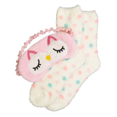 Women's Sweet Owl Cozy Nap Set