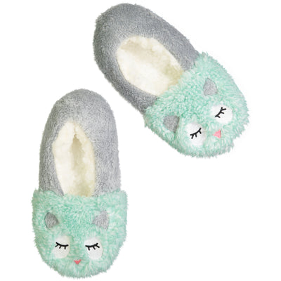 Women's Owl Face Dreamy Babba™ Slipper Sock
