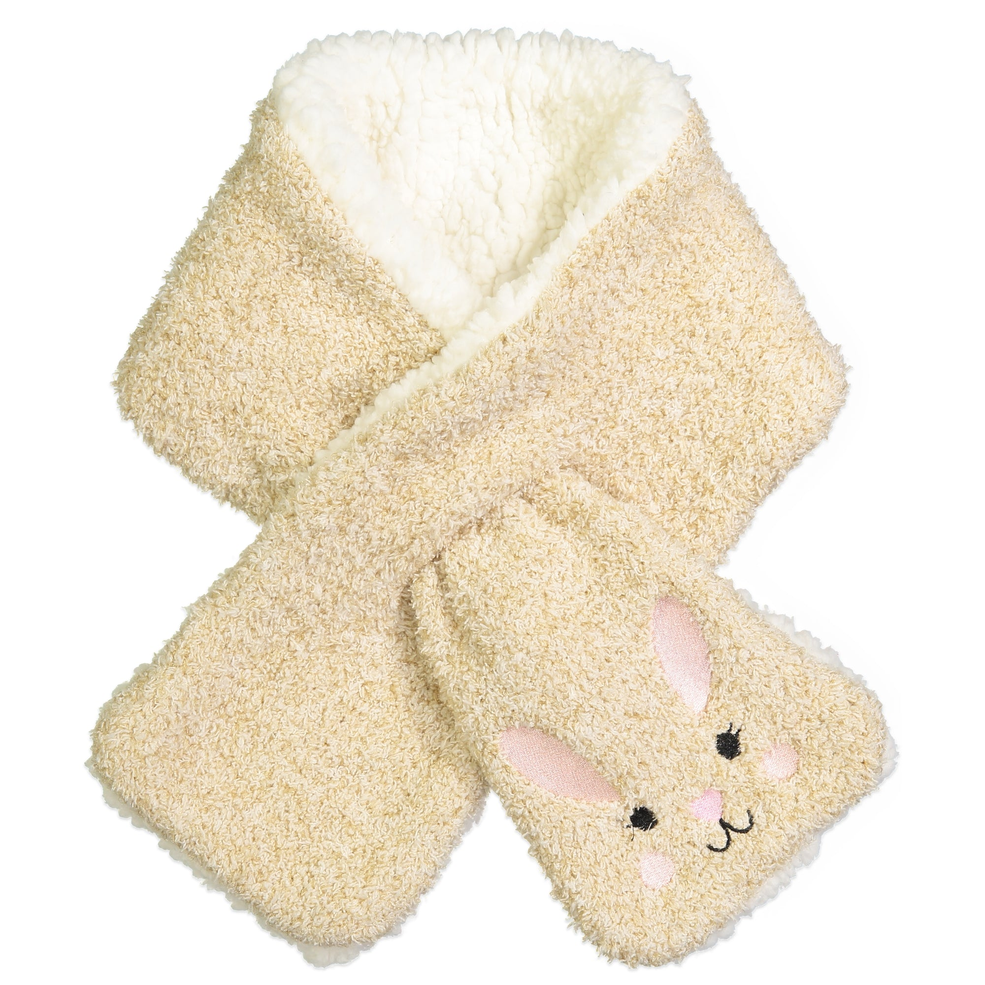 Women's Bunny Pull-through Scarf