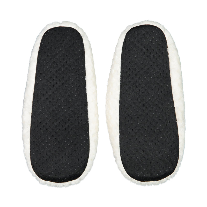 Quilted Mule Slipper with Bow in White