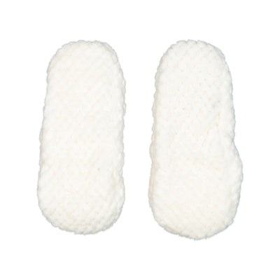 Lightweight Slipper Sock in White