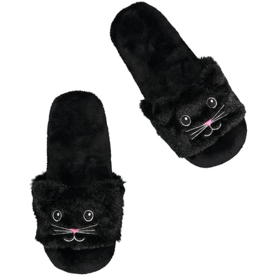Women's Slide with Kitty Cat Face