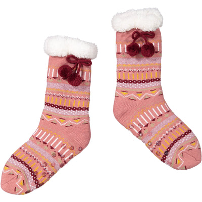 Women's Sparkly Stocking Slipper Socks