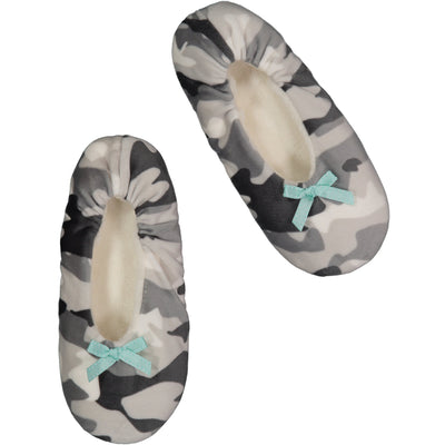 Women's Lightweight Camouflage Slipper Socks