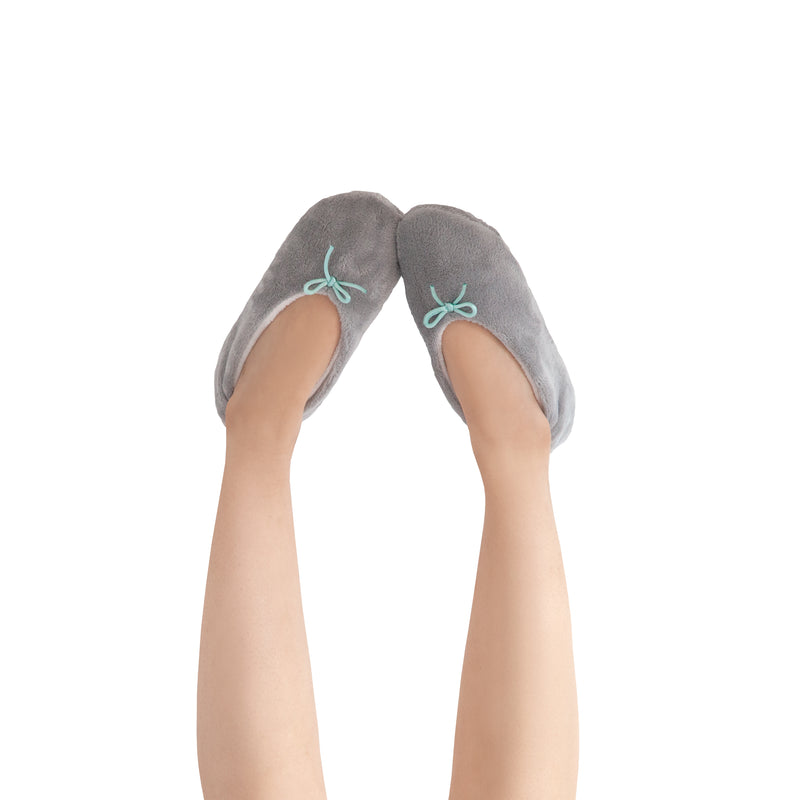 Women's Lightweight Gray Slipper Socks