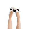 Women's Lightweight Panda Face Slipper Socks