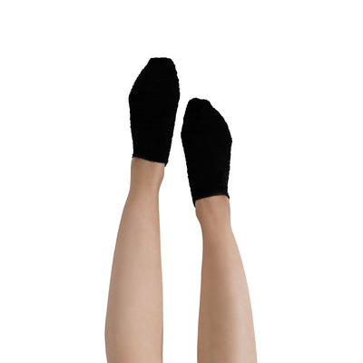 "Women's ""Cat Nap"" Fuzzy Ankle Socks with Grips - 2 pk"