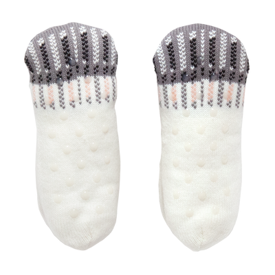 Women's Cat Face Knitted Slipper Socks