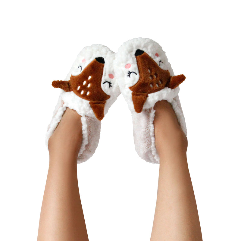 Women's Llama Dreamy Babba Slipper Socks