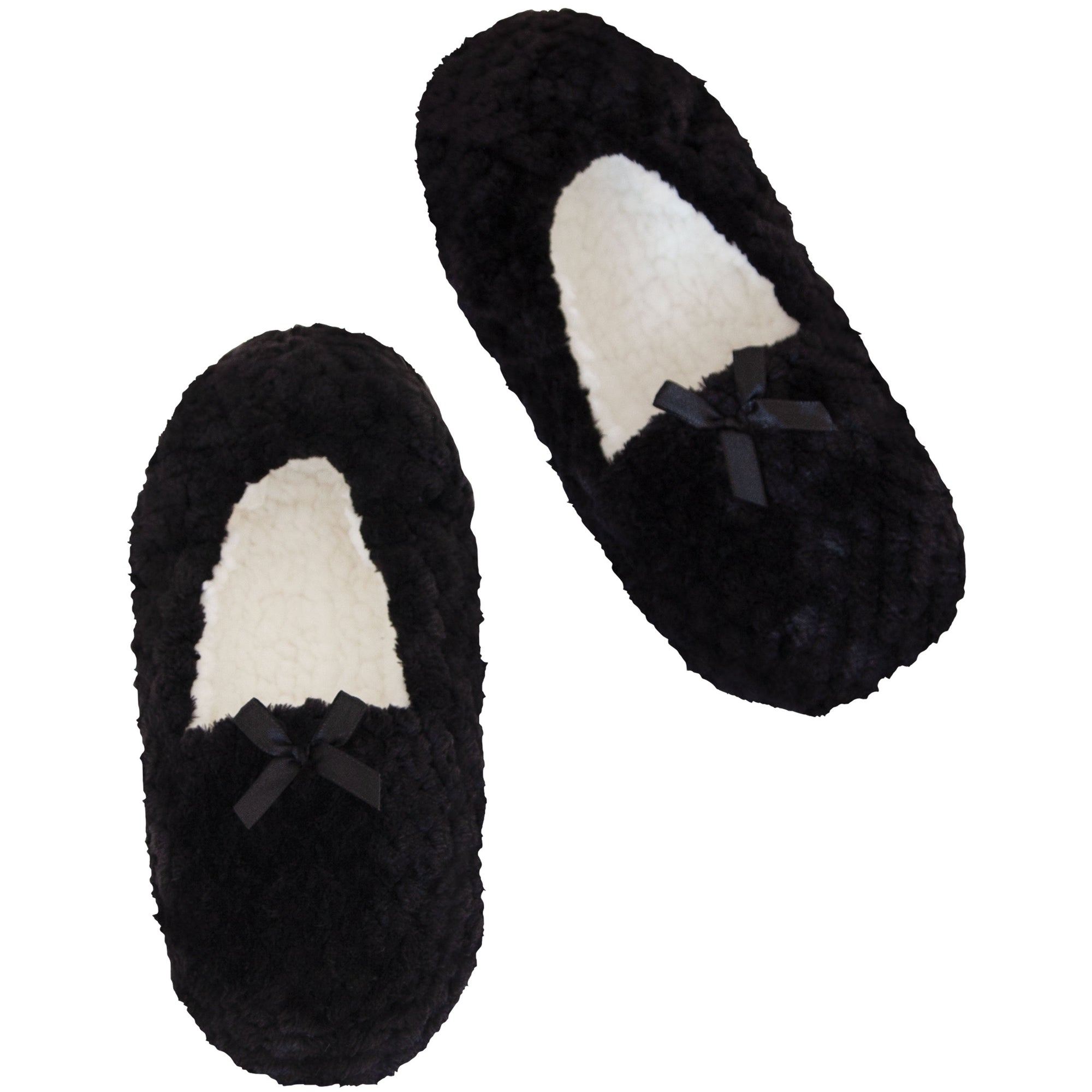 Women's Textured Loafer Slipper Socks