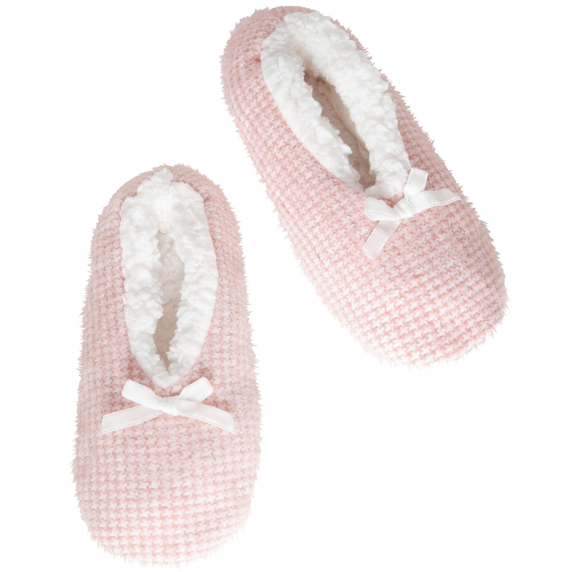 Women's Feather Checked Slipper Socks