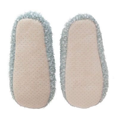 Women's Feather Spotted Slipper Socks