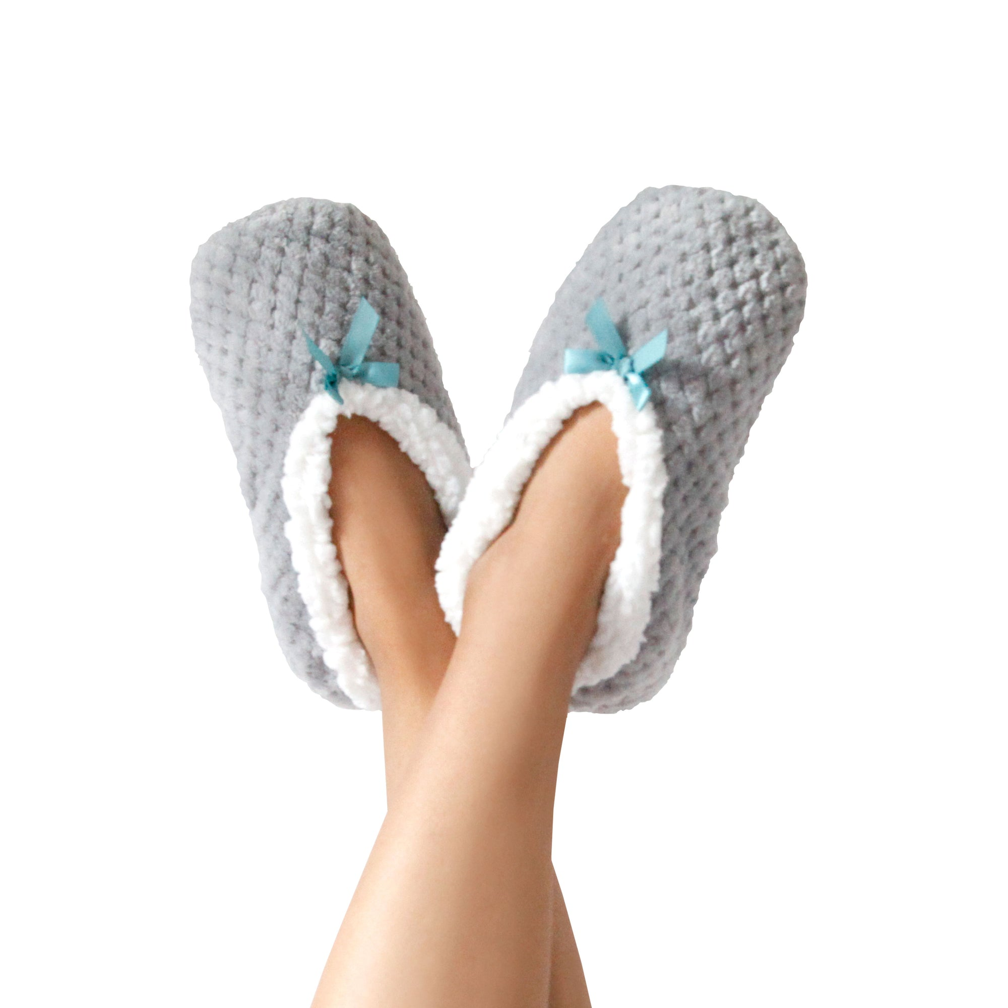 Women's Textured Slipper Socks