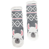 Women's Llama Cozy Warmer Slipper Socks with Sherpa Lining