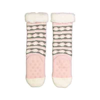 Girls Unicorn Cozy Warmer™ Slipper Sock with Sherpa Lining - Fuzzy Babba