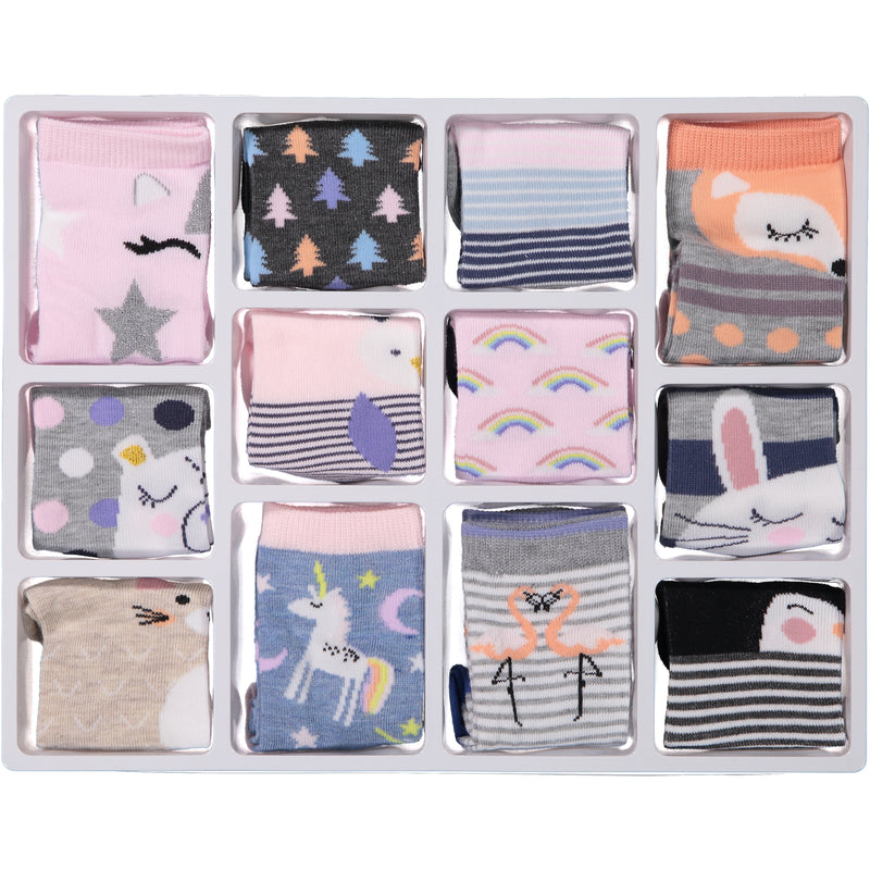 Kids Mystical 12 Days of Socks Holiday Advent Box