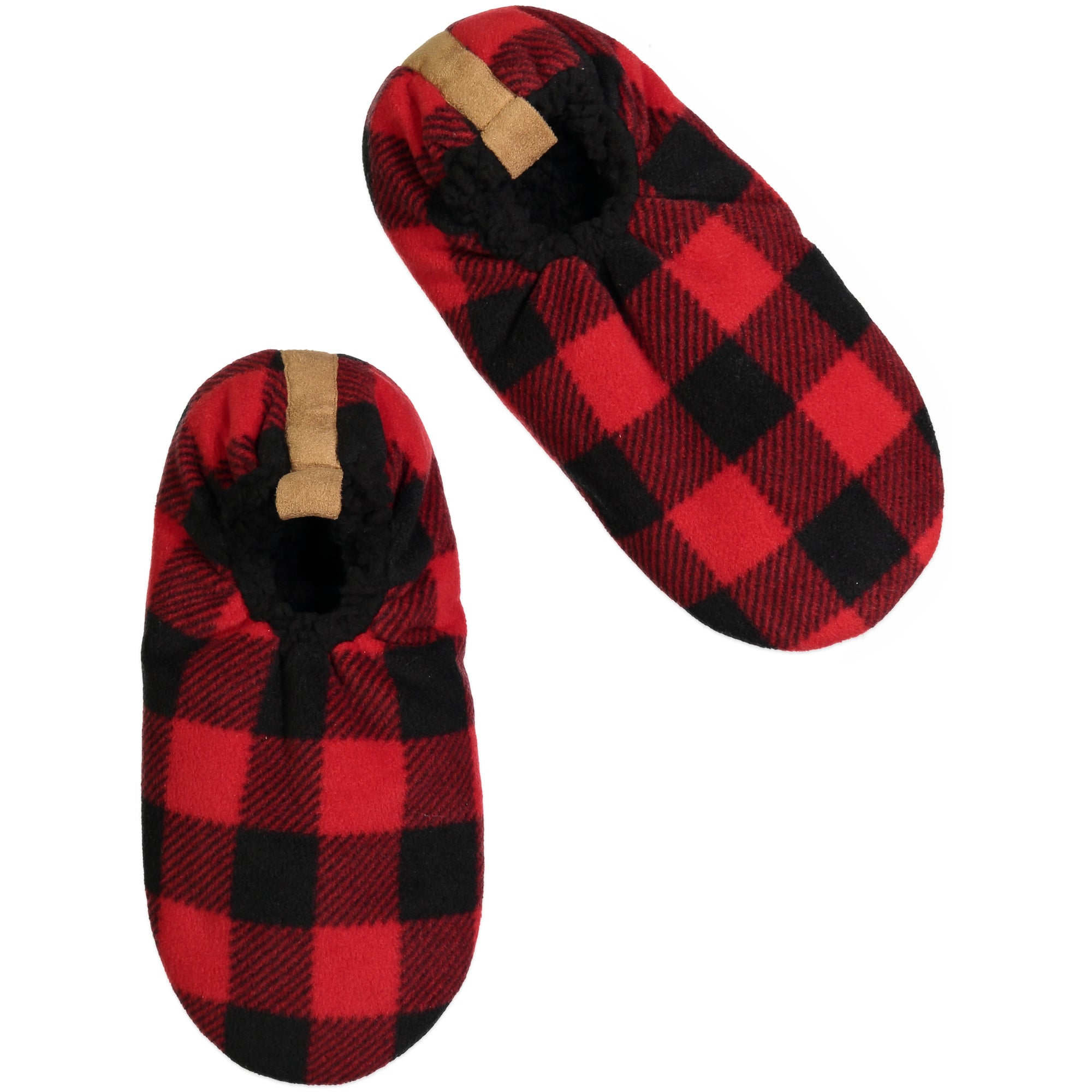 Men's Plaid Slipper Sock
