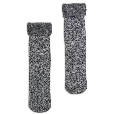 Men's Heather Cozy Boot Sock - Fuzzy Babba