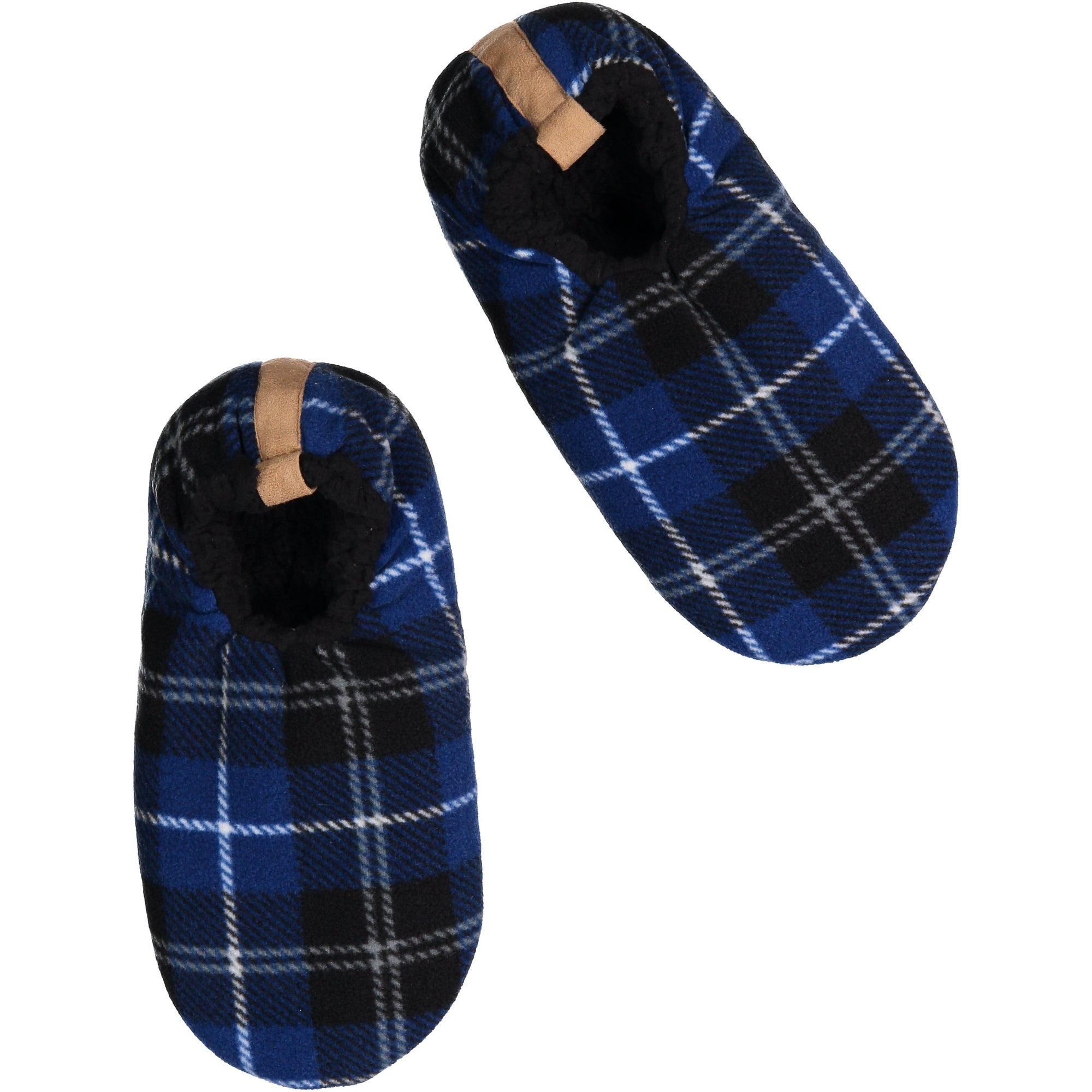 Men's Plaid Slipper Socks