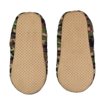 Men's Camo Slipper Sock - Fuzzy Babba