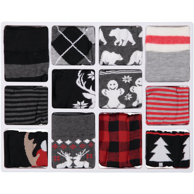 Men's 12 Days of Socks Holiday Advent Box