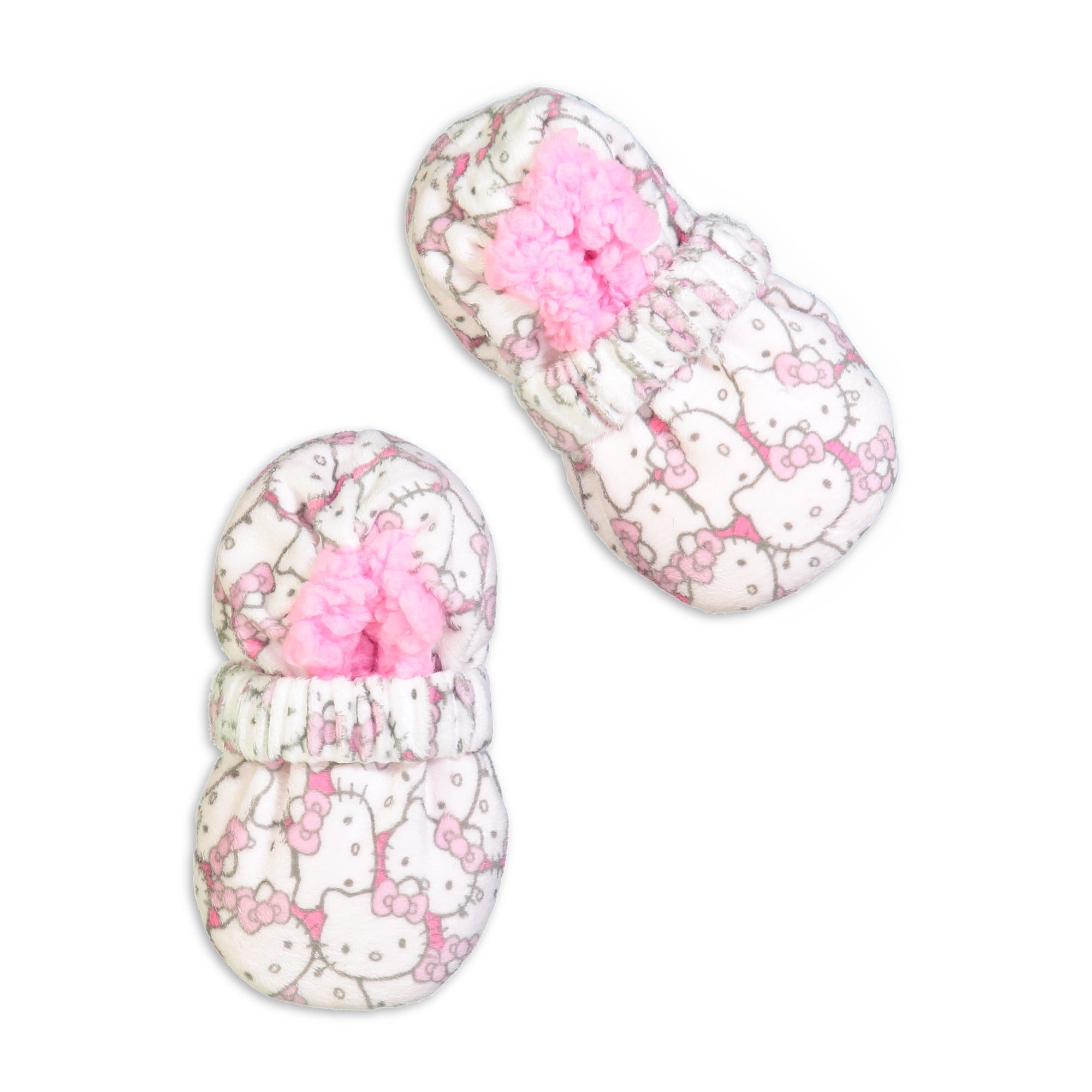 Infant/Toddler Hello Kitty Slipper Sock with Safety Strap