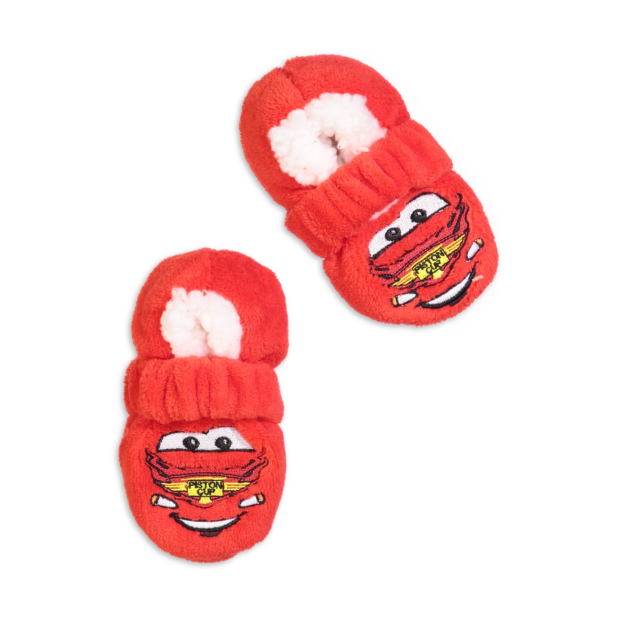 Infant/Toddler Cars Lightning McQueen Slipper Sock with Safety Strap