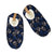 Men's Skull Print Slipper Sock