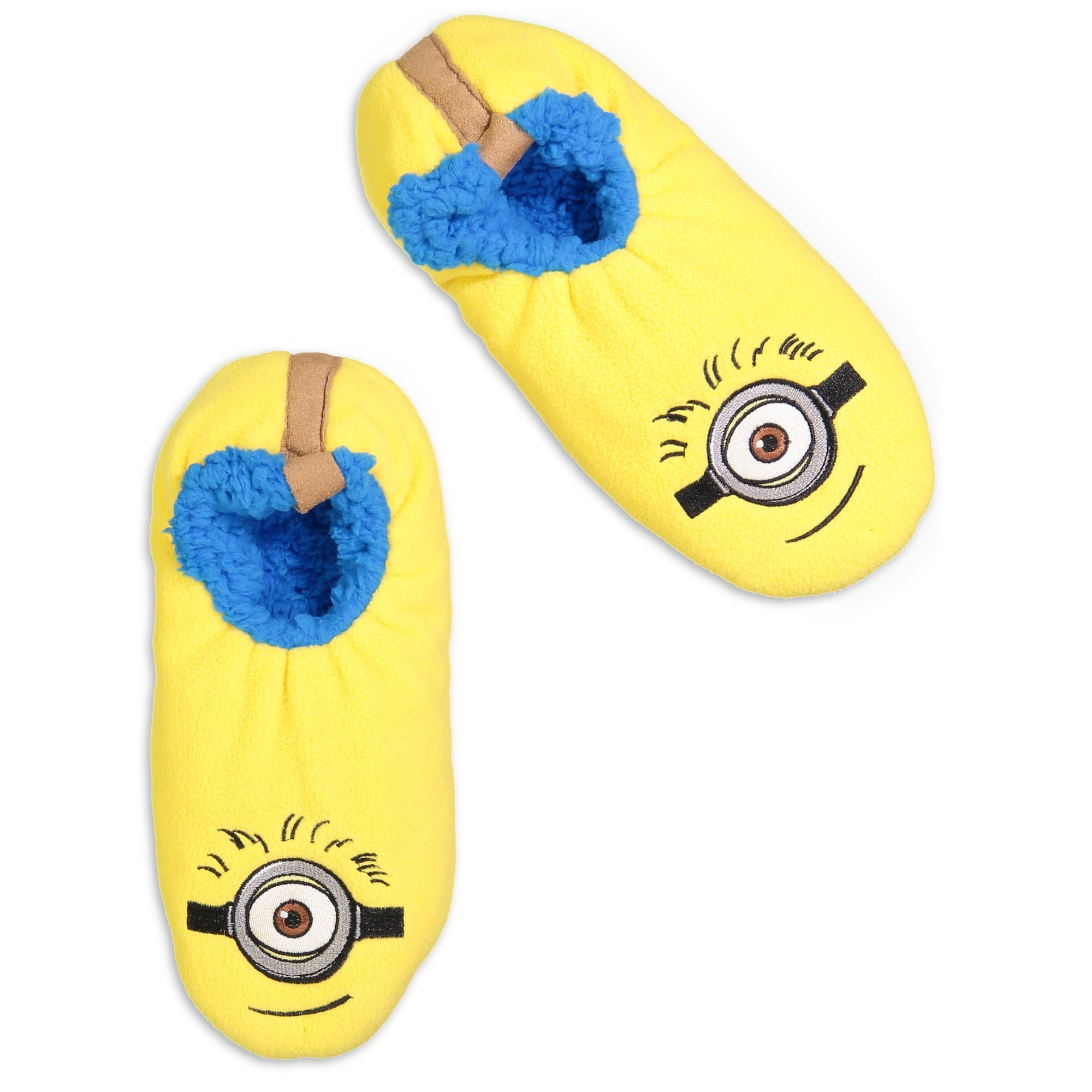 Men's Despicable Me Minion Face Fuzzy Babba - Fuzzy Babba