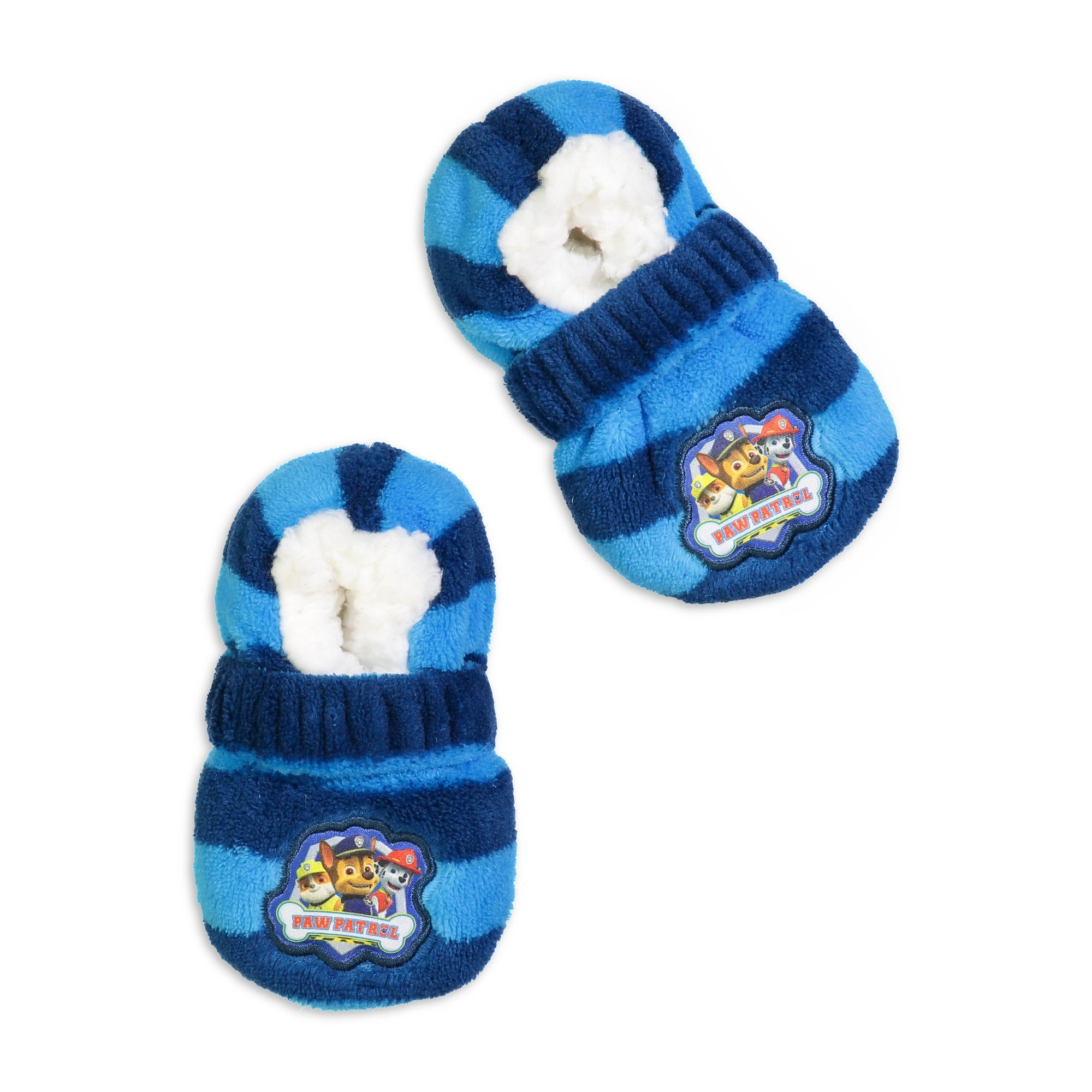 Infant/Toddler Paw Patrol Striped Slipper Sock with Safety Strap