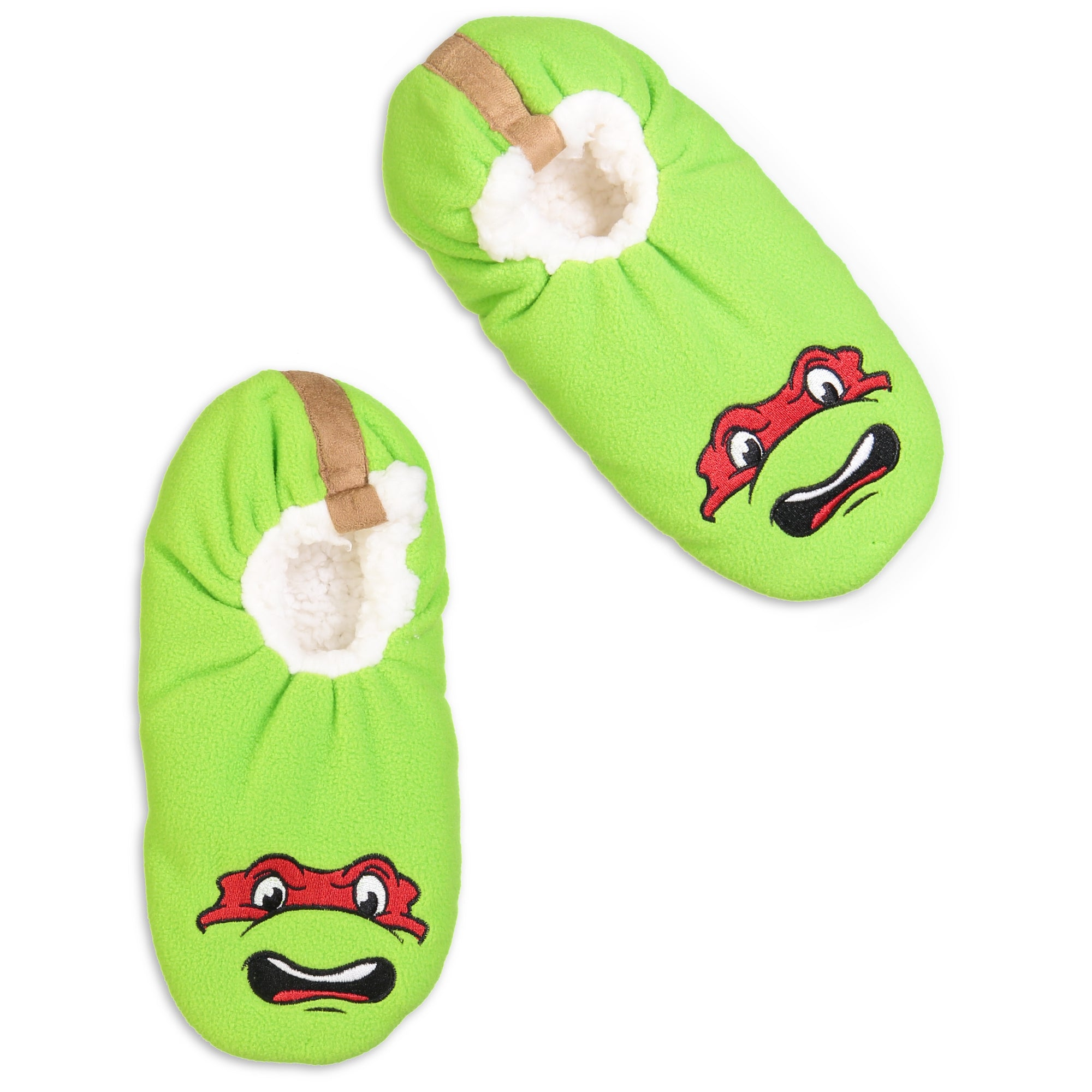 Men's Ninja Turtles Raphael Slipper Sock