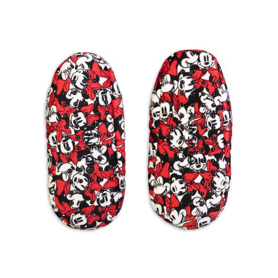 Women's Minnie Mouse Printed Slipper Sock