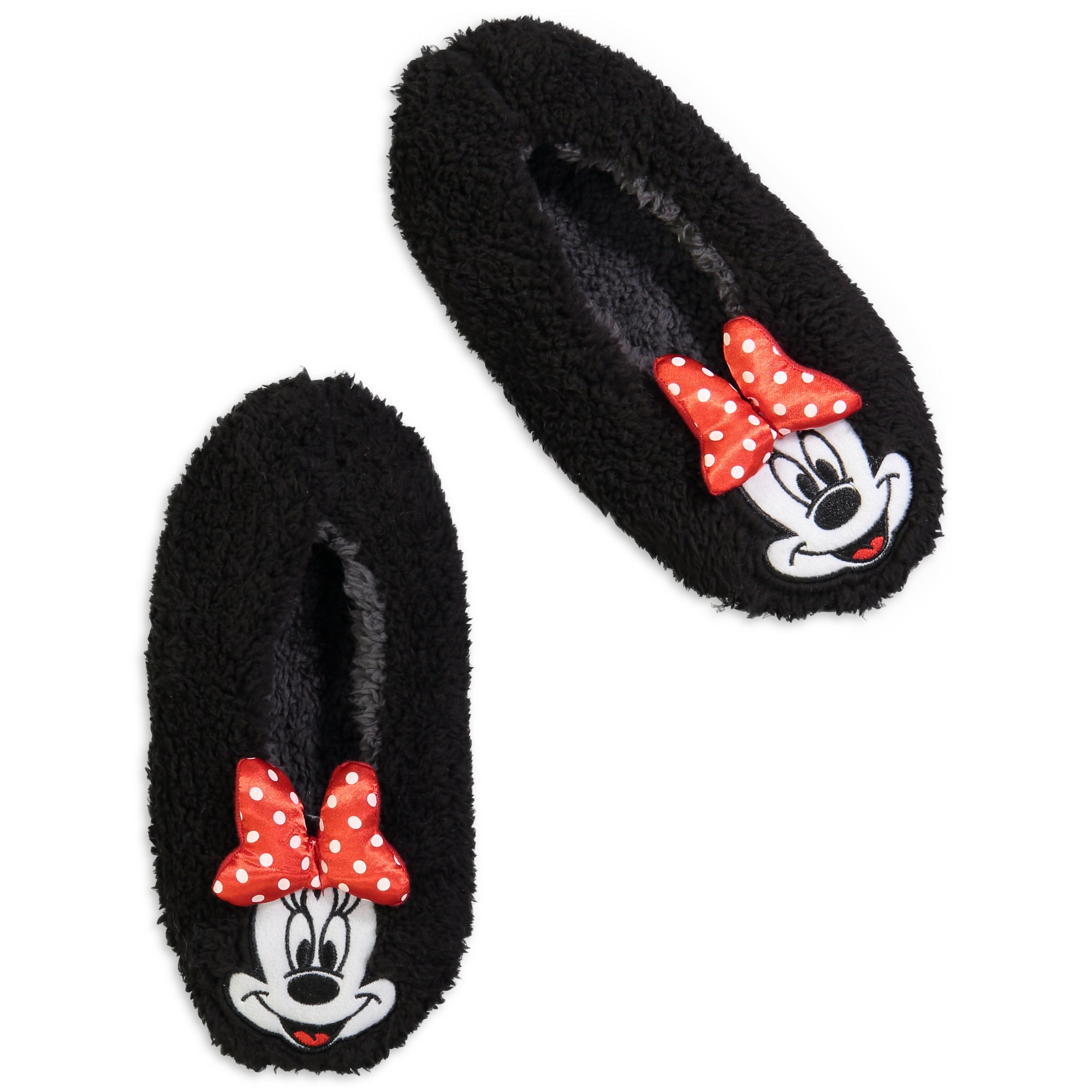 Women's Minnie Mouse Ultra-Plush Slipper Sock
