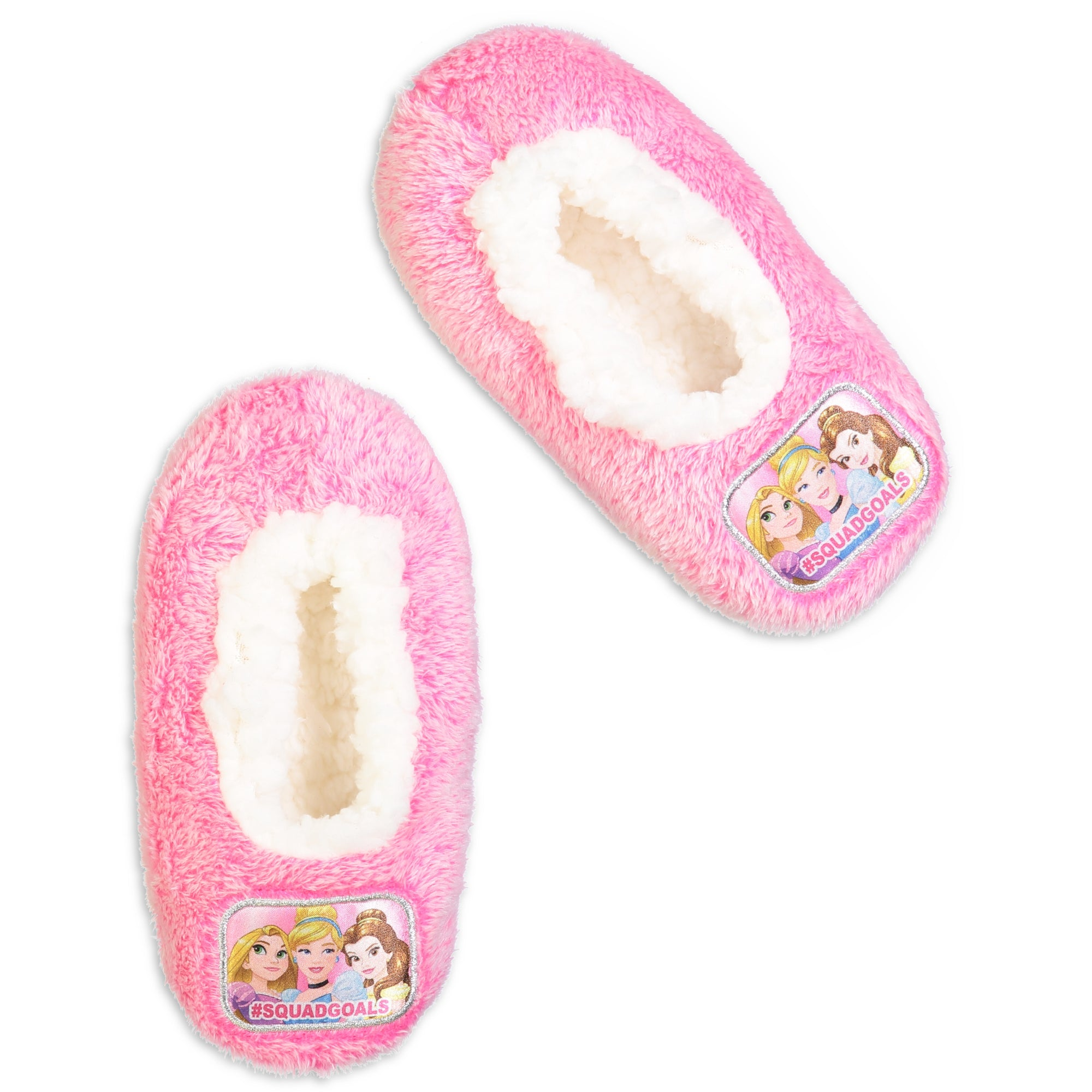 Infant/Toddler Disney Princess #SQUADGOALS Slipper Sock