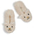 Girls Polar Bear Curly Yarn Soft Slipper