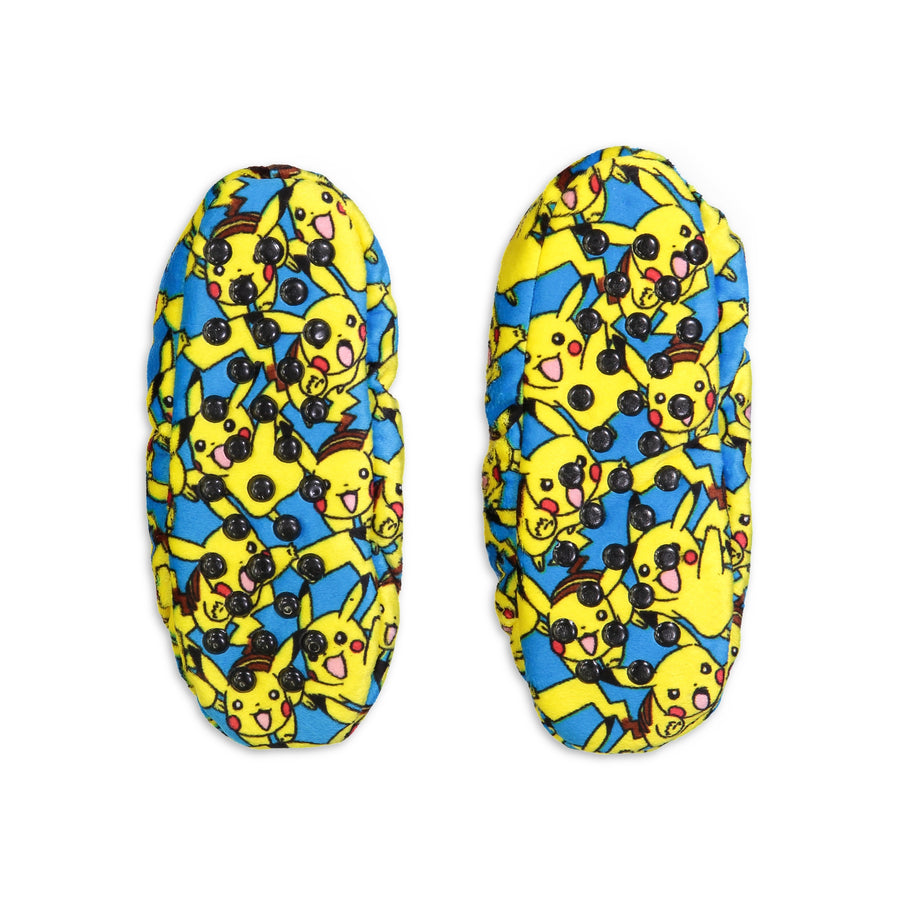 Kids Pokemon Pikachu Print Slipper Sock