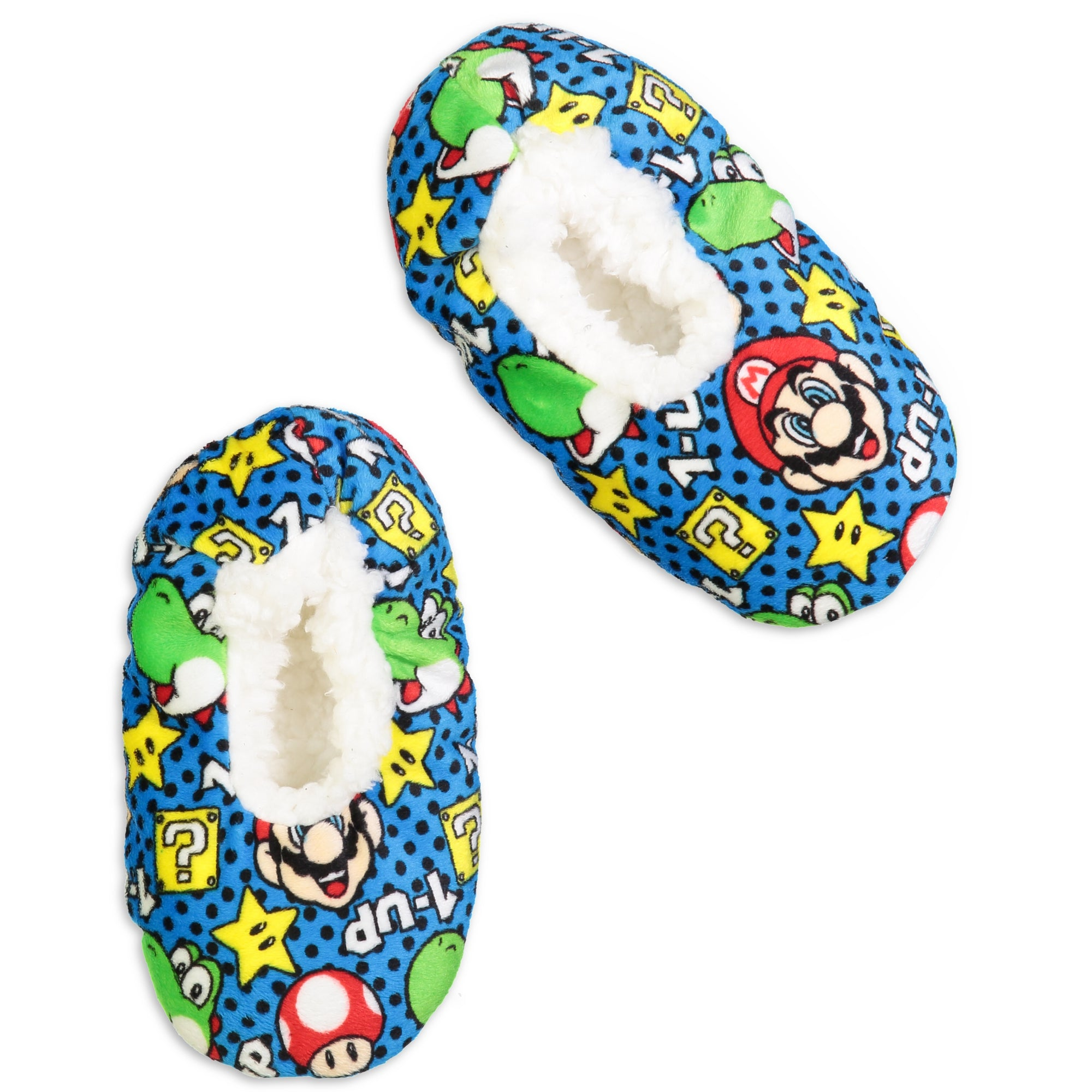 Kids Super Mario Brothers Slipper Sock