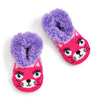 Girls Bright Kitty Teddy Fur - Fuzzy Babba