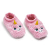 Girls Unicorn Furry Footable - Fuzzy Babba