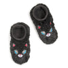 Girls Kitty Furry Footable - Fuzzy Babba