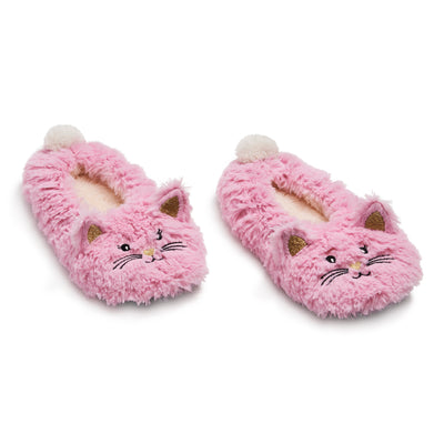 Girls Kitten Critter Fur - Fuzzy Babba
