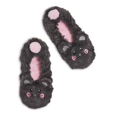 Girls Mouse Critter Fur - Fuzzy Babba