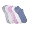 Women's 5-pack Sparkle Superlow Socks - Fuzzy Babba