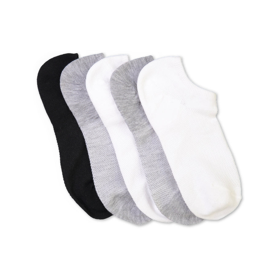 Women's 5-pack Basics Superlow Socks - Fuzzy Babba