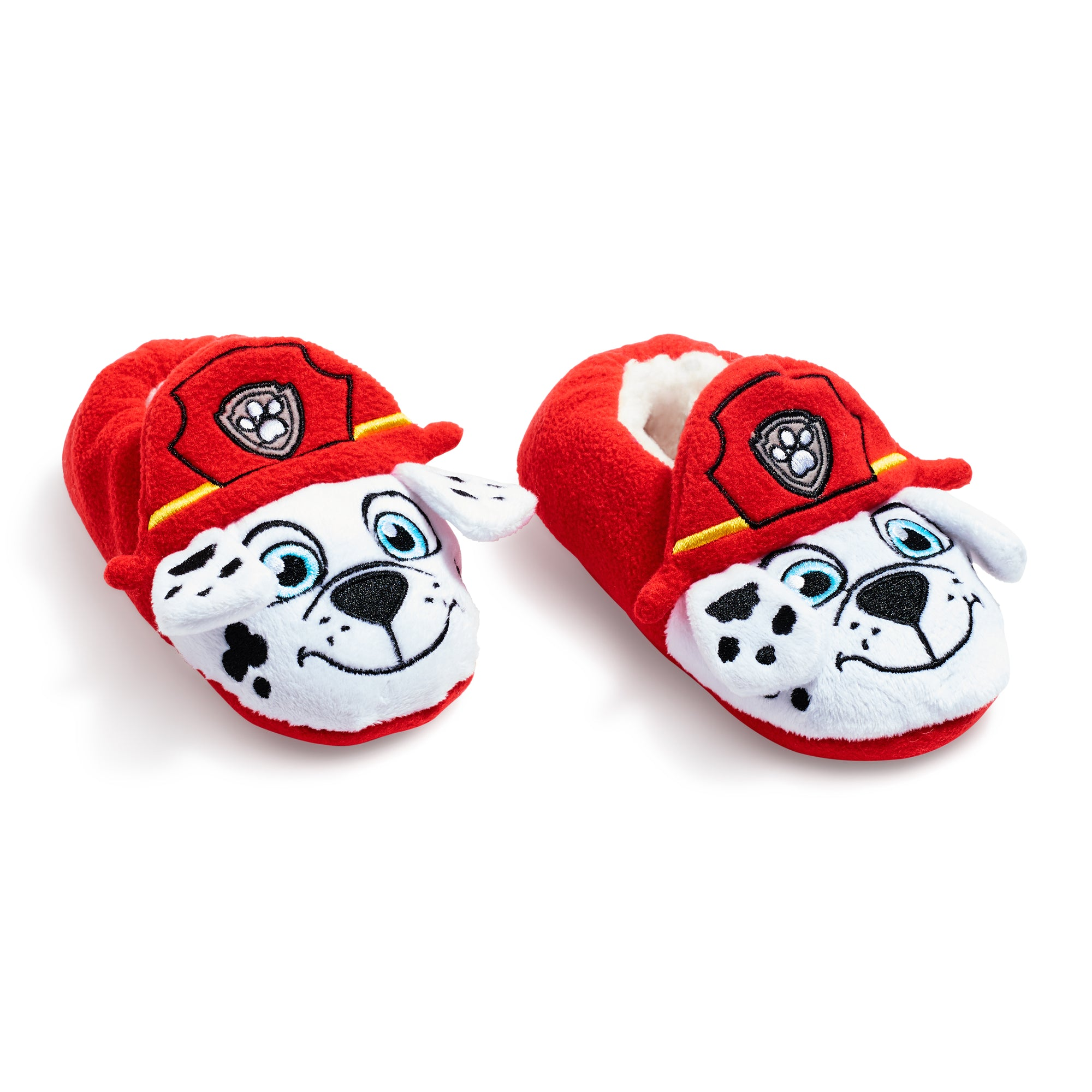 PAW PATROL NEW RED // WHITE Slipper Socks with Grippers for Kids